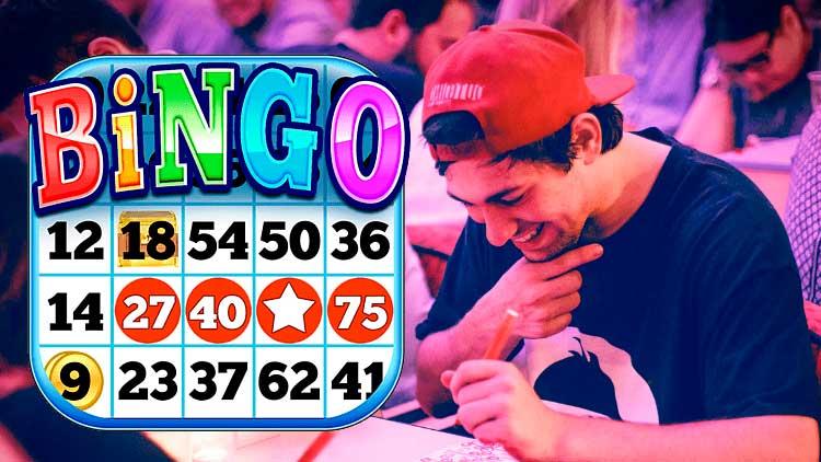 Bannière de bingo